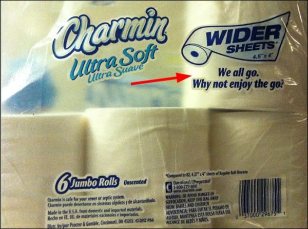 Charmin Ultra Soft Toilet Paper Worst Advertising Slogan