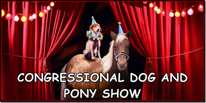 CONGRESSIONAL-DOG-AND-PONY SHOW