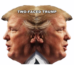 two-faced-trump