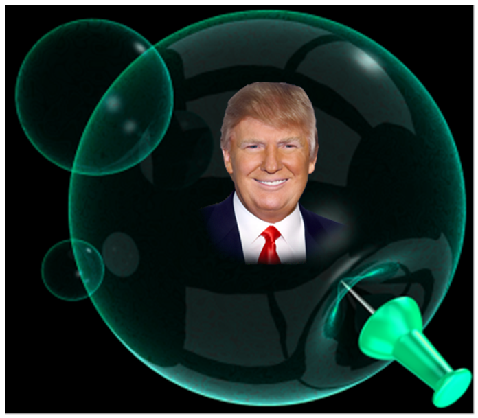 Image result for Trump lives in a bubble