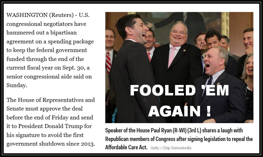 Congressional Budget Deal Gop Joke One Citizen Speaking