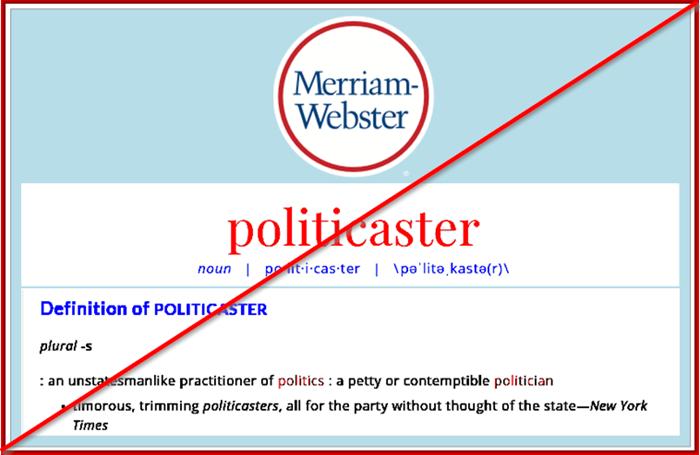 politicaster