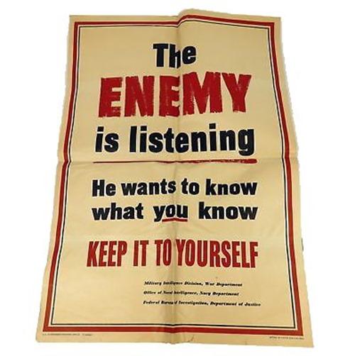 Original-1942-The-Enemy-Is-Listening-Keep-It