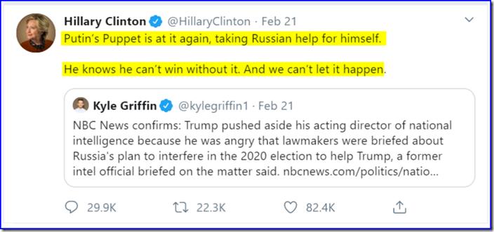 Hillary-Tweet