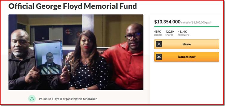 floyd fund raiser